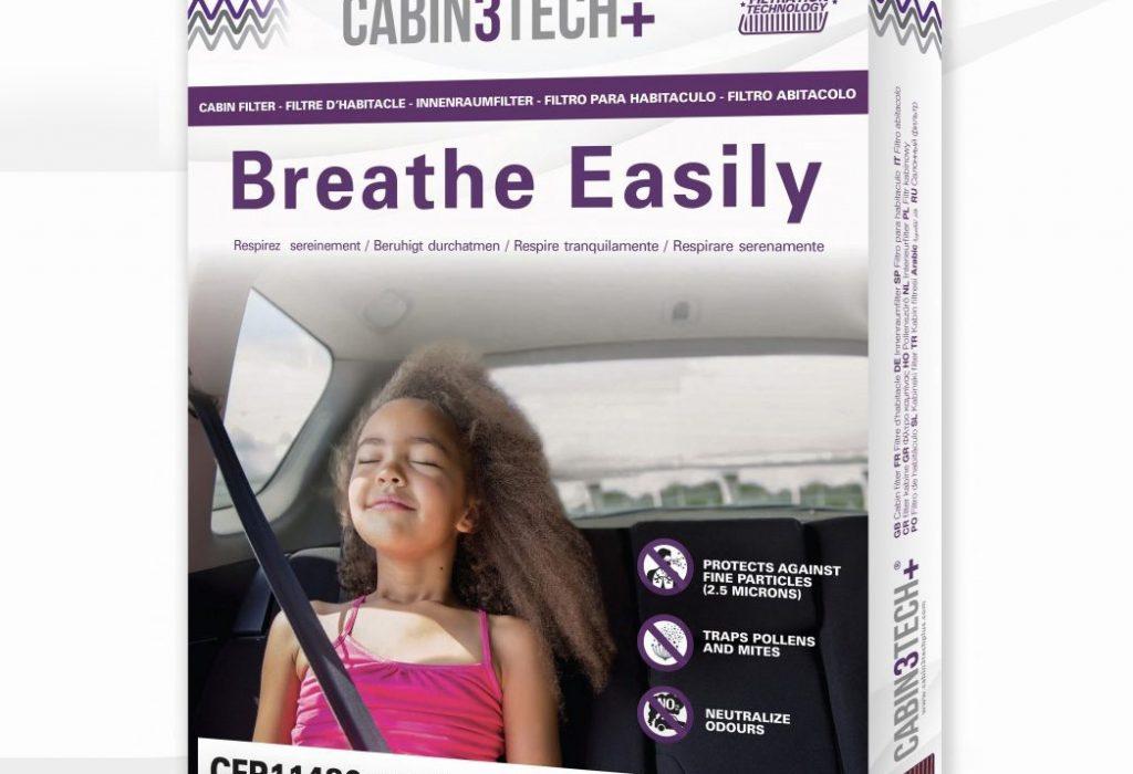 Chráňte svoje zdravie snovou generáciou kabínových filtrov Cabin3Tech+